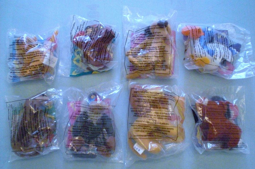 McDonald's 1998 - Simba's Pride - Complete Set of 8 MIP #Disney #HappyMealtoys