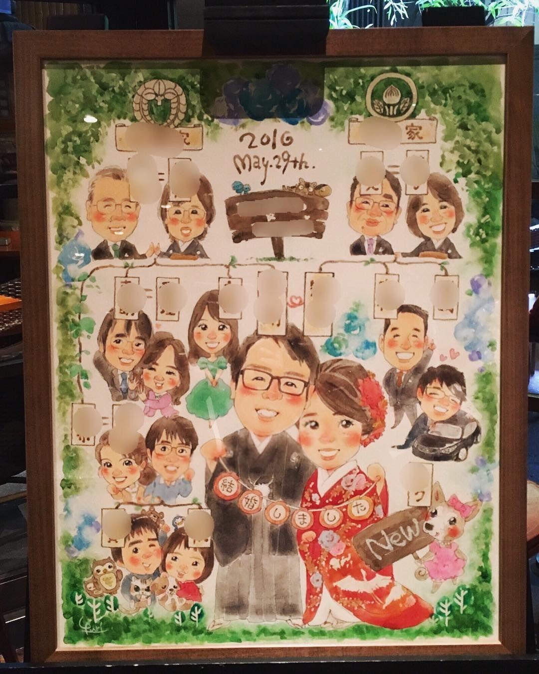 結婚式で 家系図 を紹介する 飾るアイデアまとめ Marry マリー