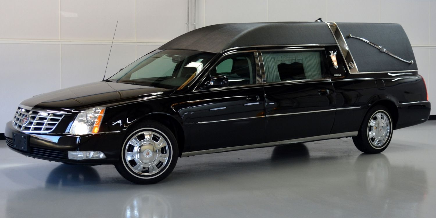 2010 cadillac dts heritage hearse by federal coach