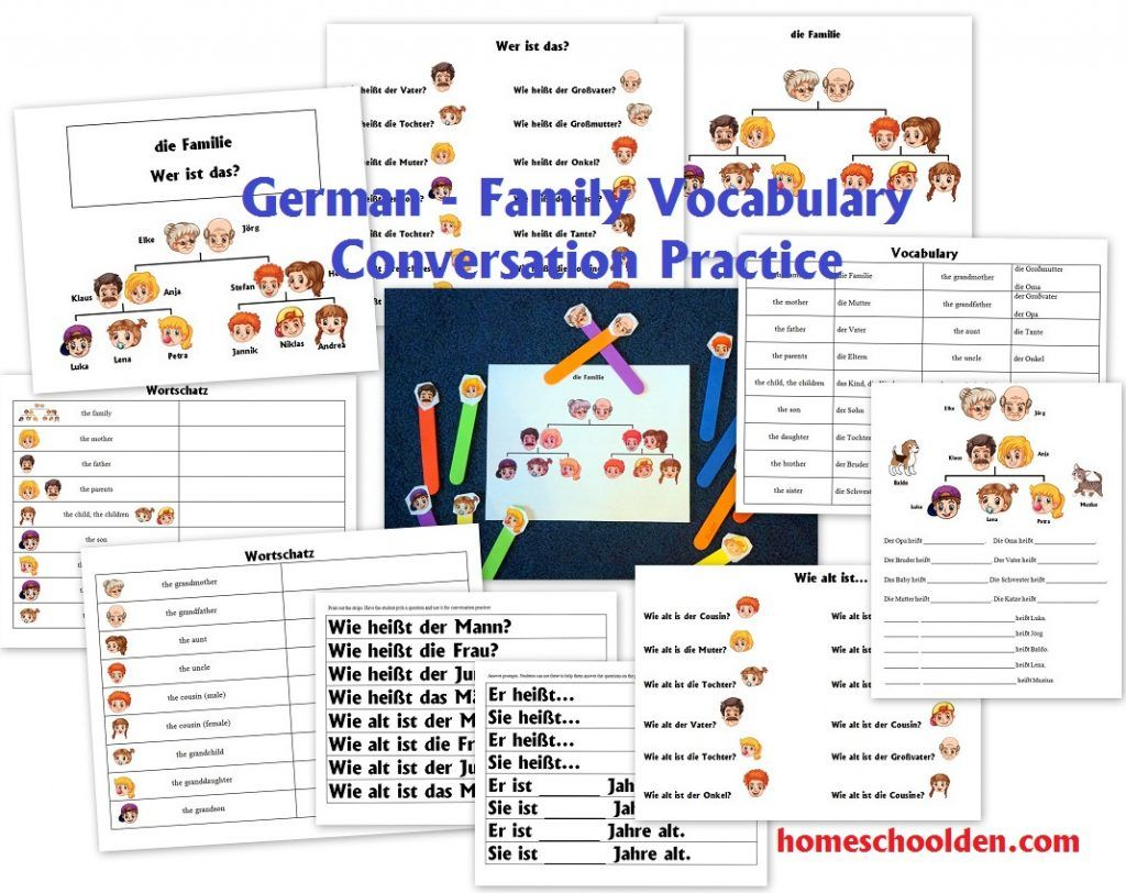 Free German Worksheets For Beginners In With Images