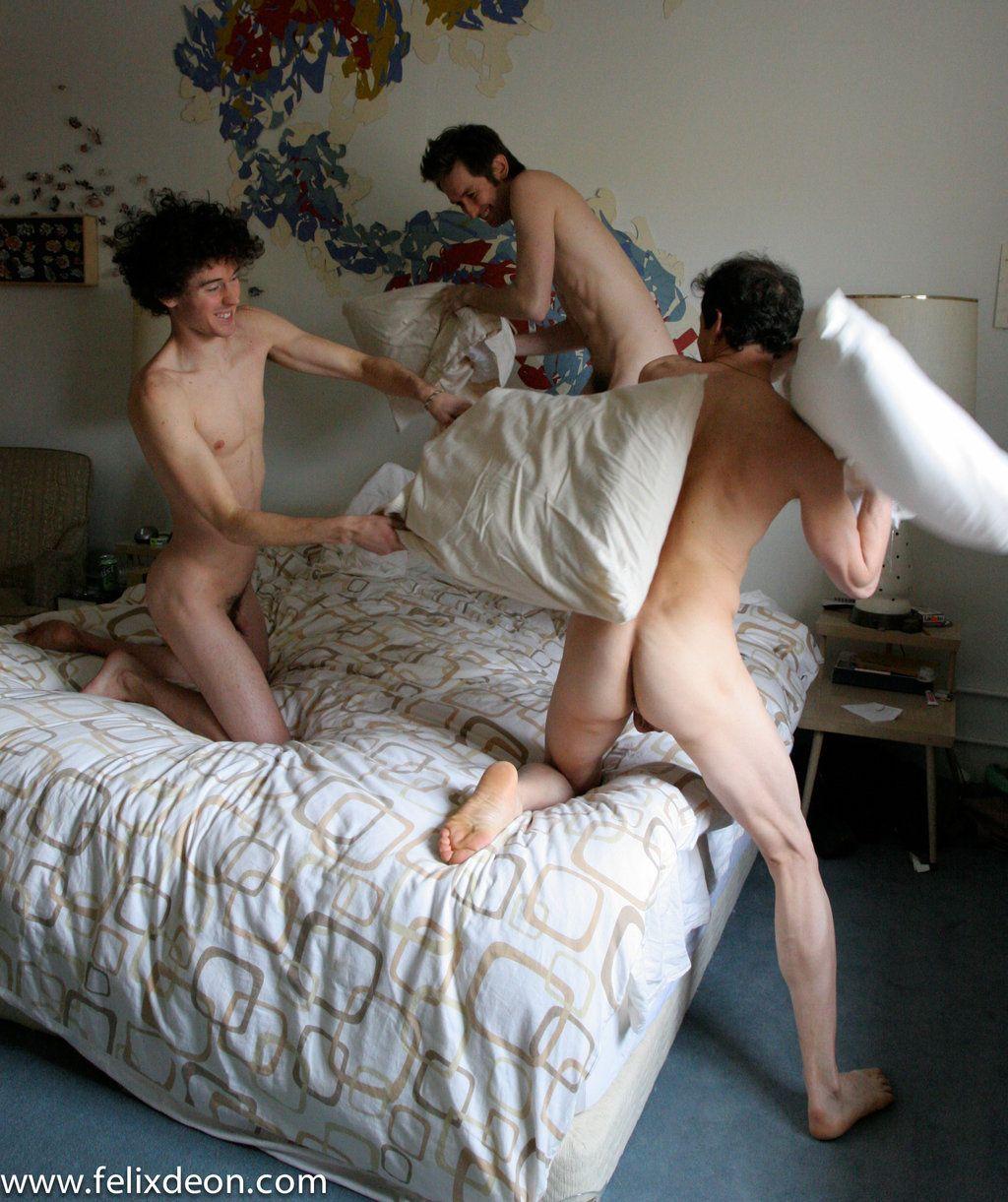 Nude boys fight #6