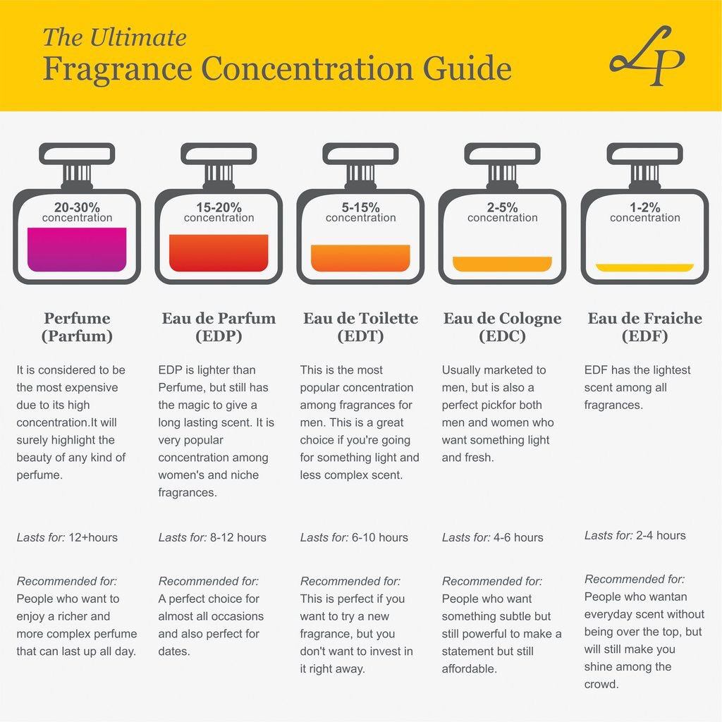 The Ultimate Fragrance Concentration Guide Style Perfume