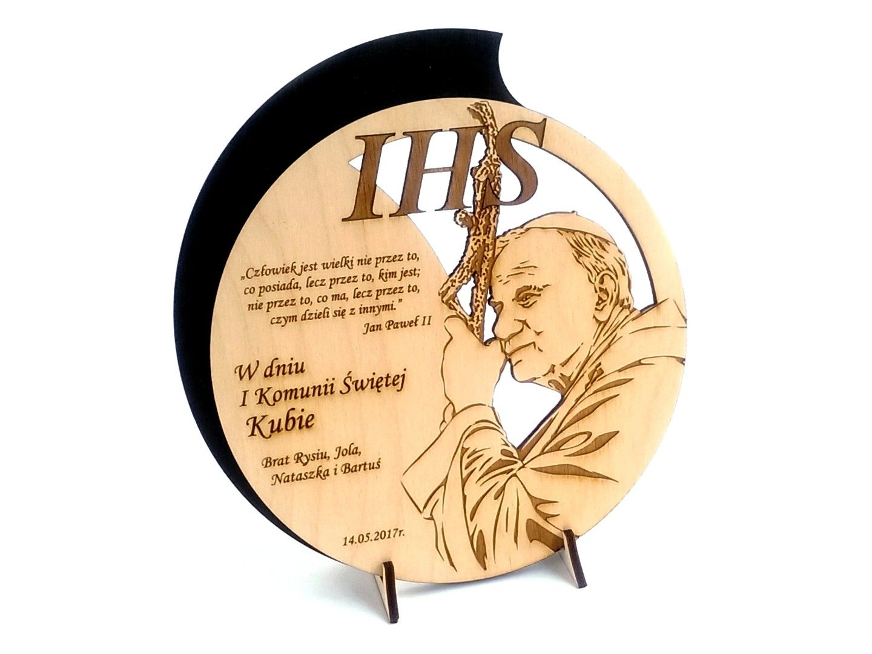 Pamiatka I Komunii Swietej Grawer Drewno Ks1 7293810596 Oficjalne Archiwum Allegro Decorative Plates Cnc Laser