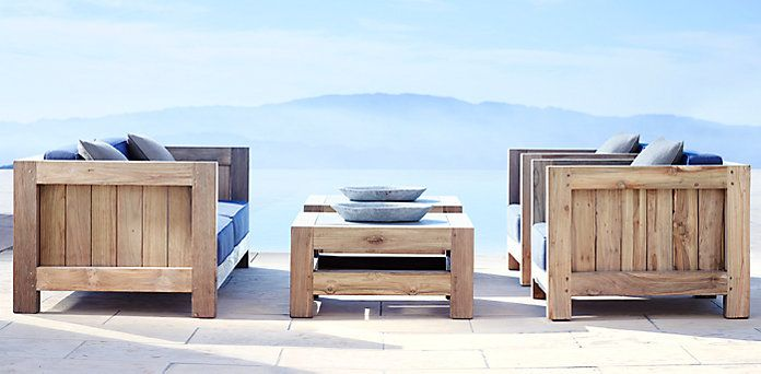 Restoration Hardware Outdoor Furniture Sardinia Collection Landscape Ideas Pinterest