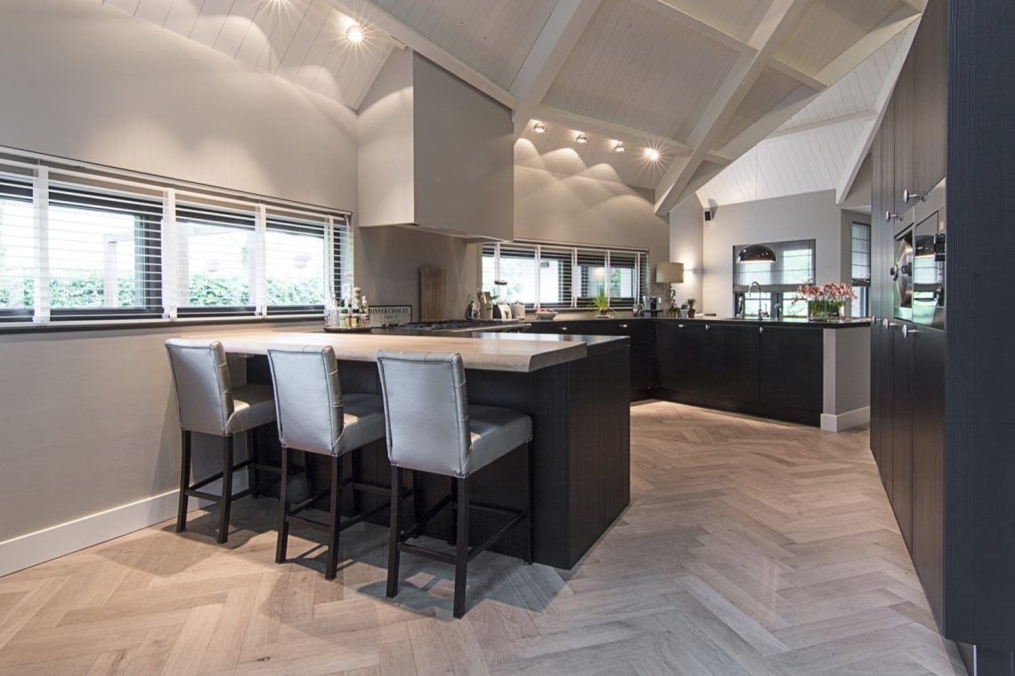 Private aswa keukens prachtige villa met landelijke eggersmann