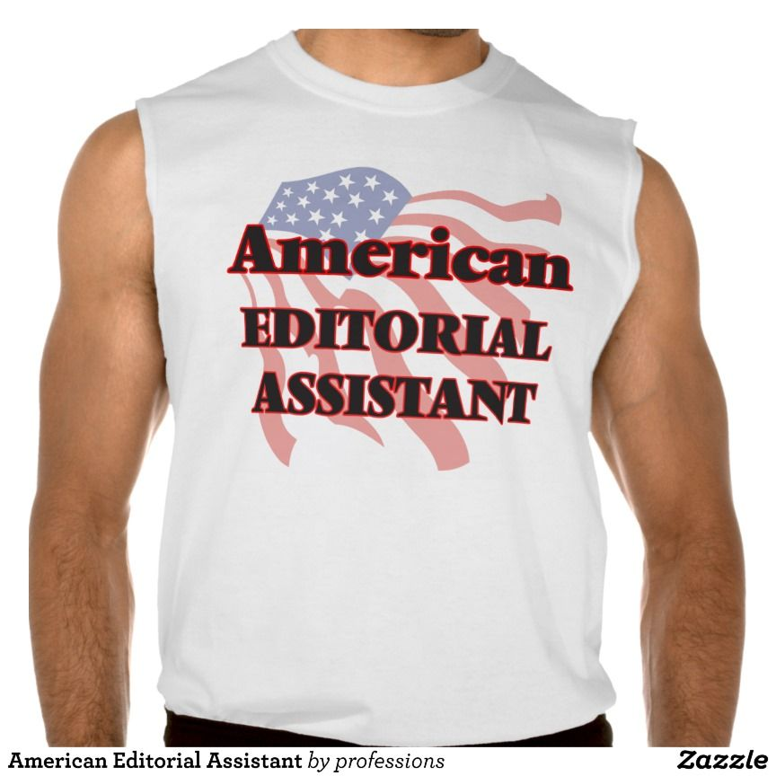 American Editorial Assistant Sleeveless Shirts Tank Tops