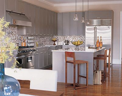 1000 images about gray kitchen on pinterest gray cabinets grey and ...