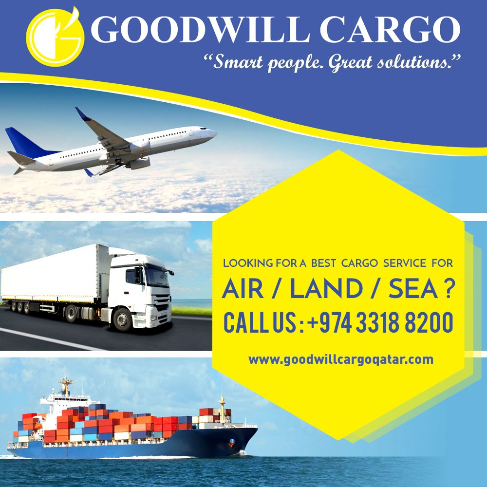 ooking for a Best Cargo Service for Air / Land / Sea
