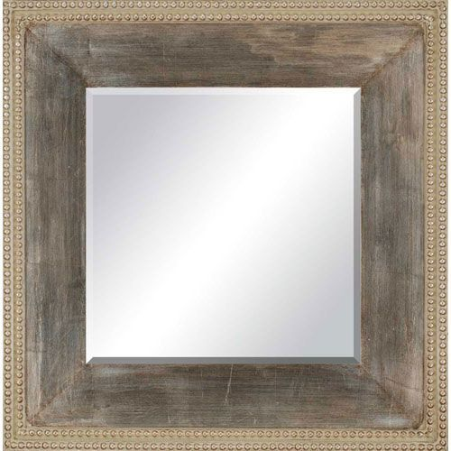 Paragon Contemporary Aged Silver Mirror   Products