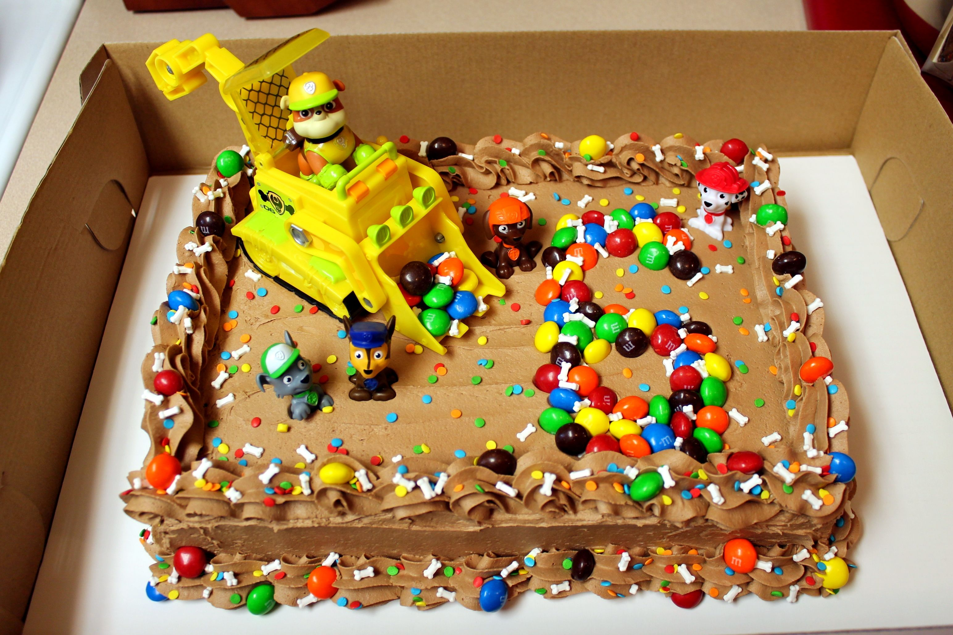 Boys Paw Patrol Birthday Cake