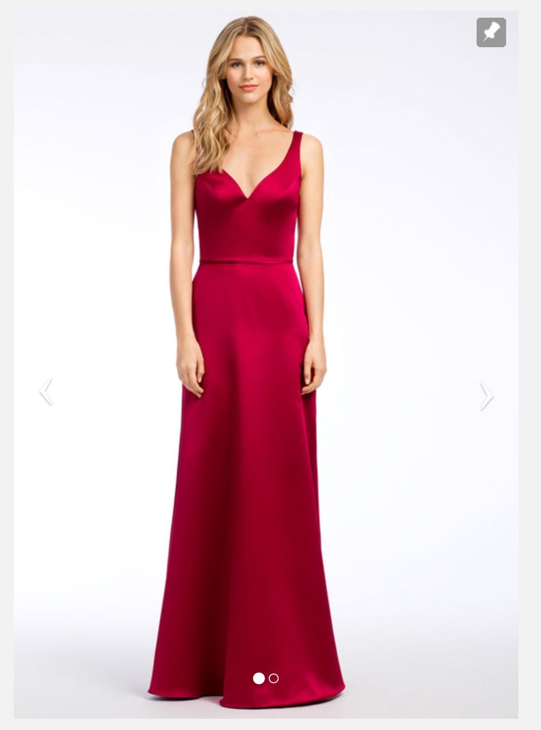 Hayley paige fitted satin bridesmaid dress in red hayley paige hayley paige fitted satin bridesmaid dress in red ombrellifo Choice Image