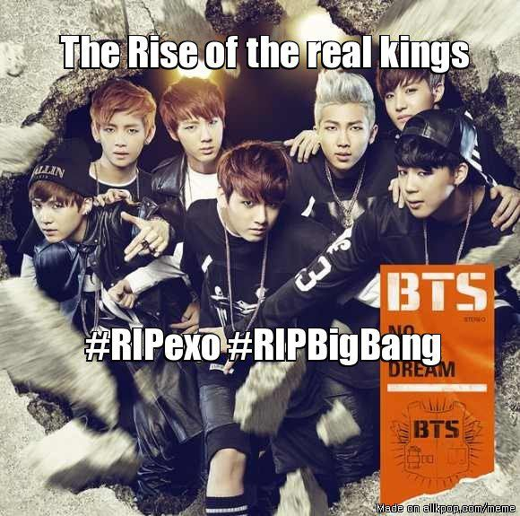 Rise BTS oppas