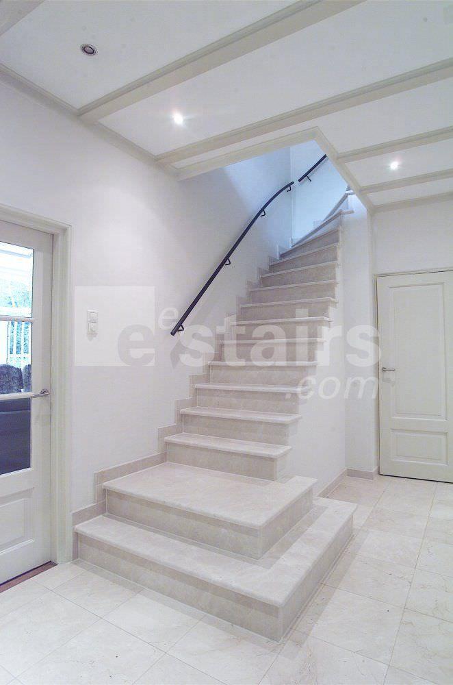escalier design quart tournant beton et bois recherche. Black Bedroom Furniture Sets. Home Design Ideas