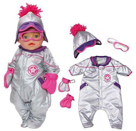 Набор одежды СНЕЖНАЯ ЗИМА De Luxe для куклы Baby Born