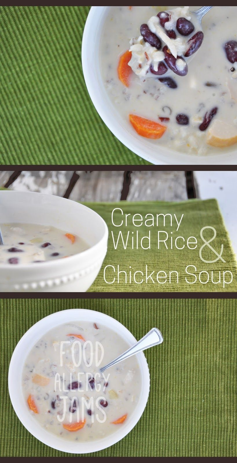 Food allergy jams enjoy life flour creamy wild rice and chicken food allergy jams enjoy life flour creamy wild rice and chicken soup tothefullest forumfinder Image collections