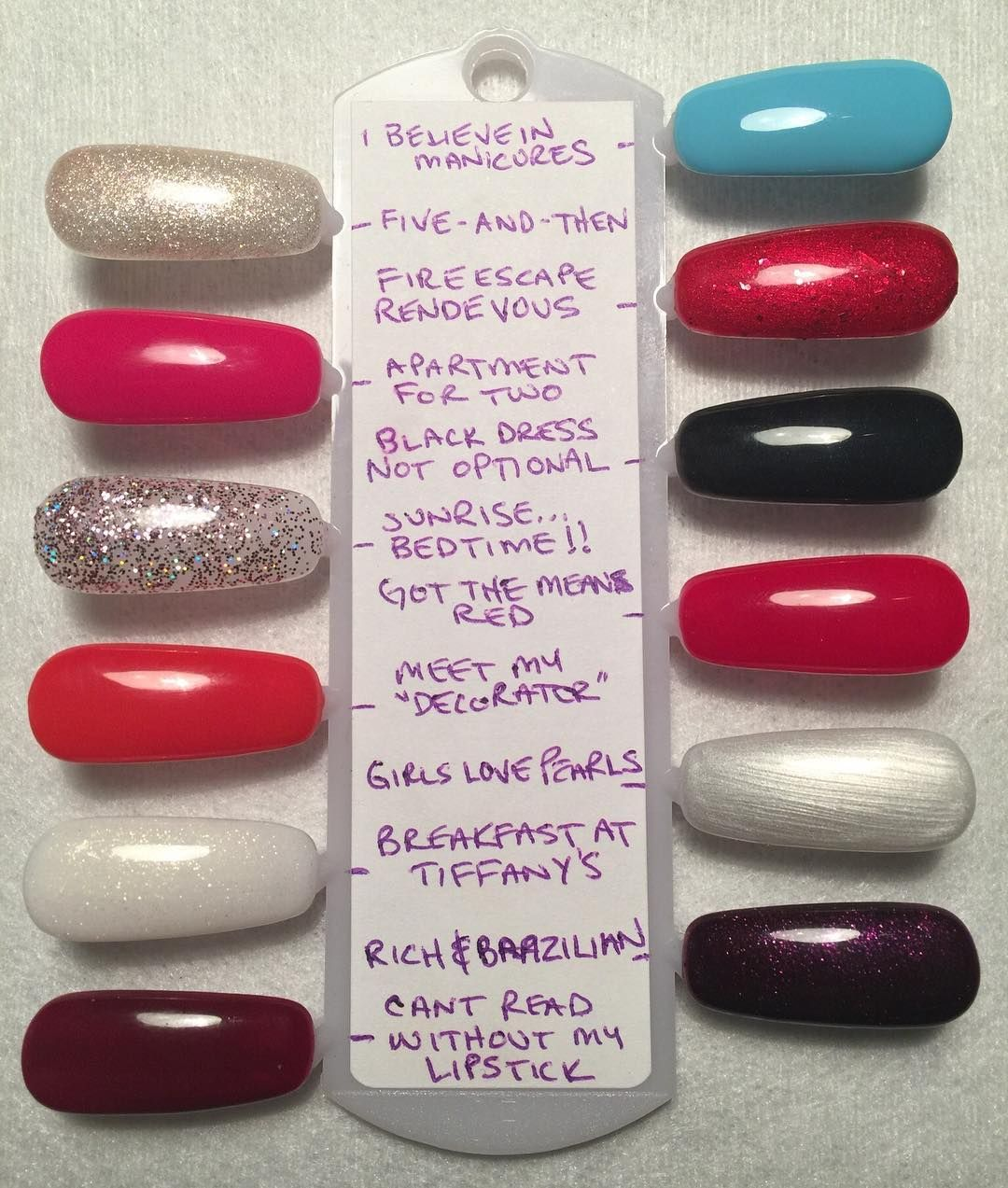 opi breakfast at tiffanys collection | nails | Pinterest | Esmalte
