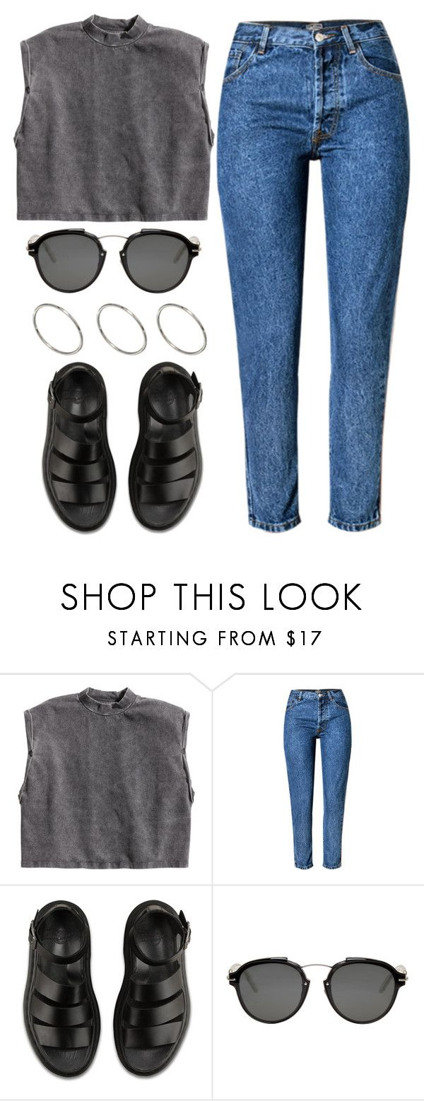 """""""1352."""" by asoul4 ❤ liked on Polyvore featuring H&M, Dr. Martens, Christian Dior and ASOS"""