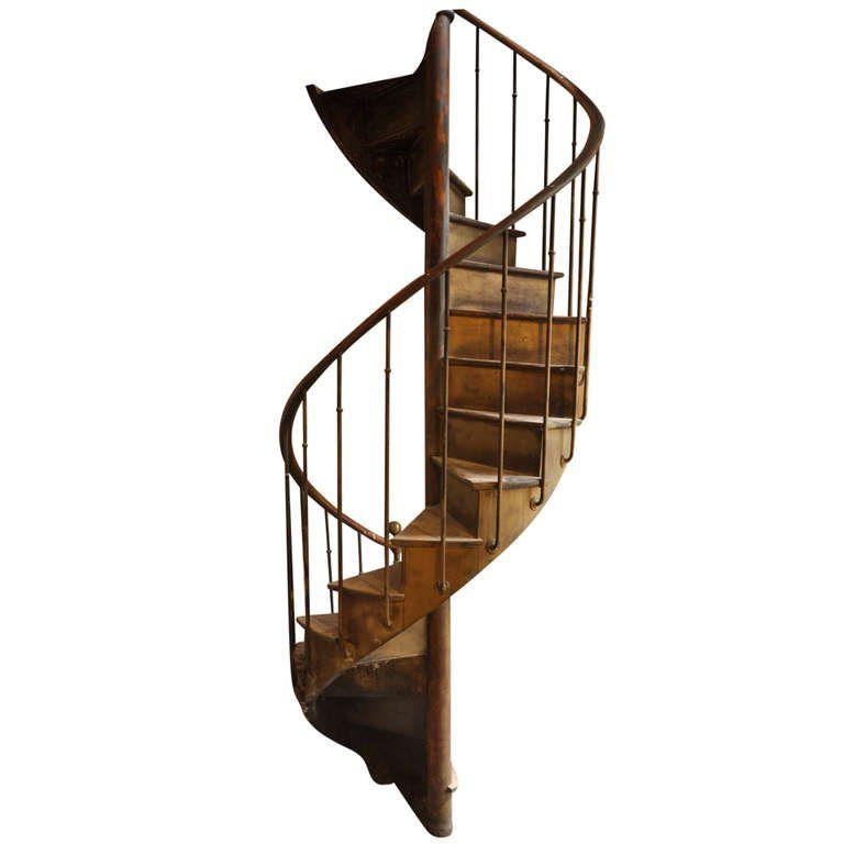 Best Antique Spiral Staircase 19Th Century 1Stdibs Com 400 x 300