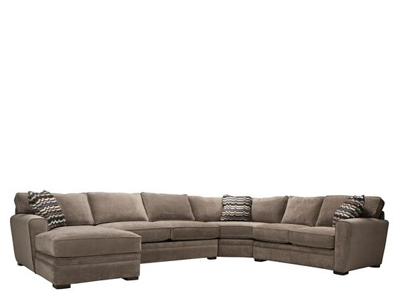 Artemis Ii 4 Pc Microfiber Sectional