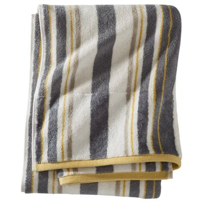 Bedrooms · Threshold™ Stripe Bath Towel