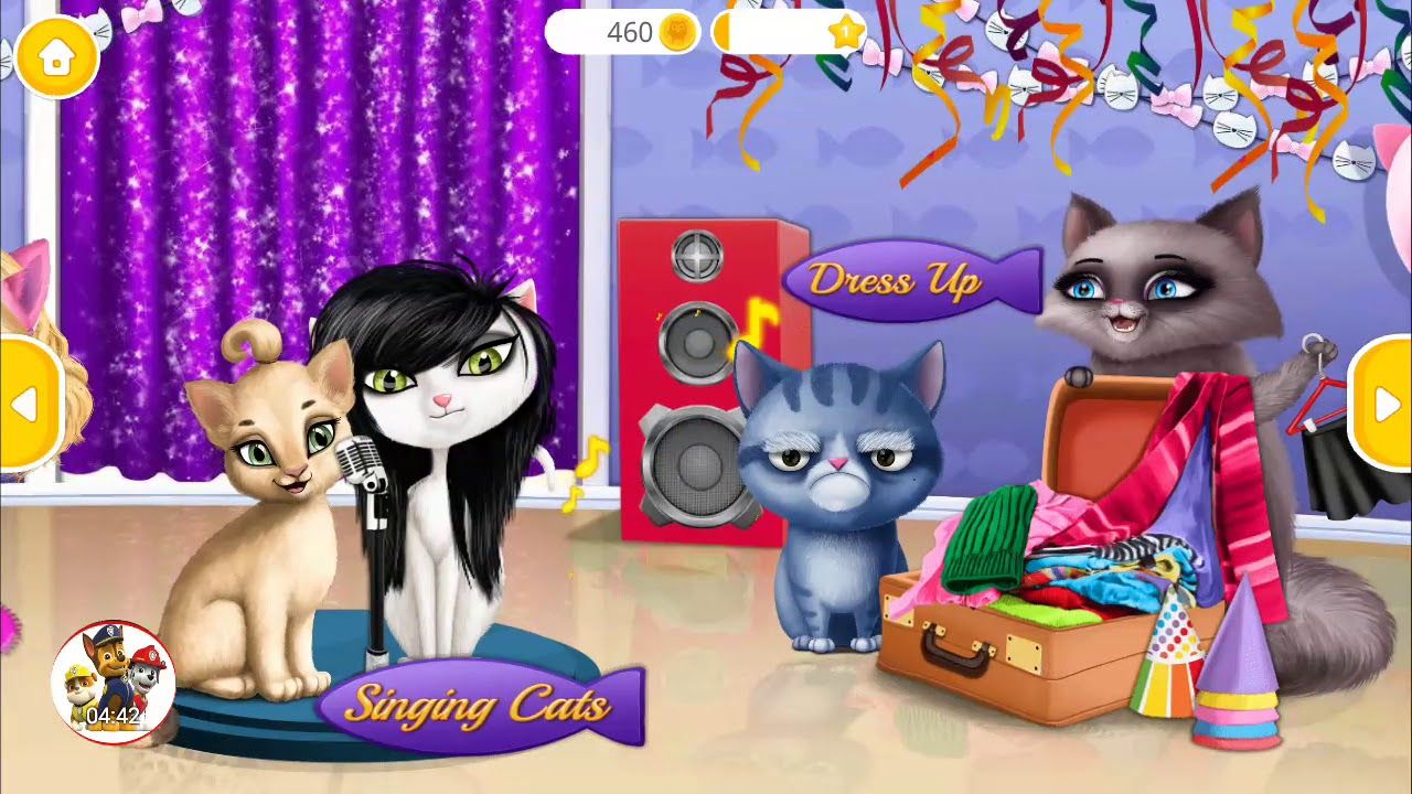Best android games | Cat Hair Salon Birthday Party - Kitty Haircut ...