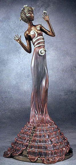 Fantasia, bronze sculpture (1988) - Erté (Romain de Tirtoff)