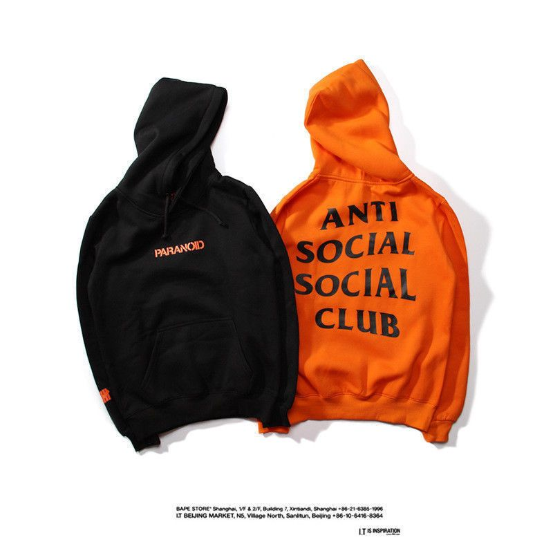 6e7a528a95e3 ANTI SOCIAL SOCIAL ClUB Hoodie Kan West Hooded Sweatshirts Unisex Men  Womens NEW  fashion  clothing  shoes  accessories  mensclothing  activewear   ad (ebay ...