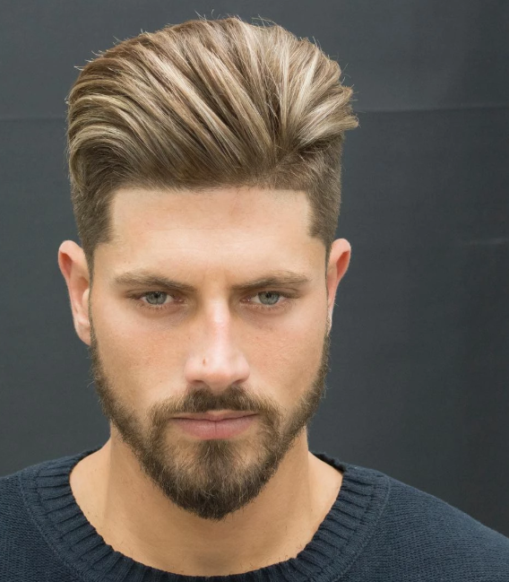 Choosing The Best And Most Popular 2019 New Hairstyle For You Mens Hairstyles Mens Hairstyles Short Men Hair Highlights