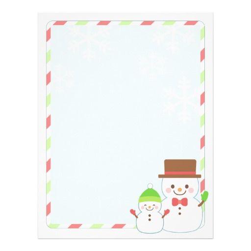 Christmas letter paper smiling snowman christmas letters and snowman christmas letter paper smiling snowman spiritdancerdesigns Gallery