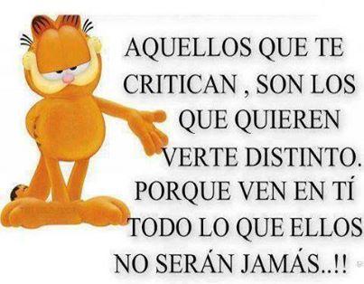 Aquellos Que Te Critican Frases Bonitas Envidia Frases Y