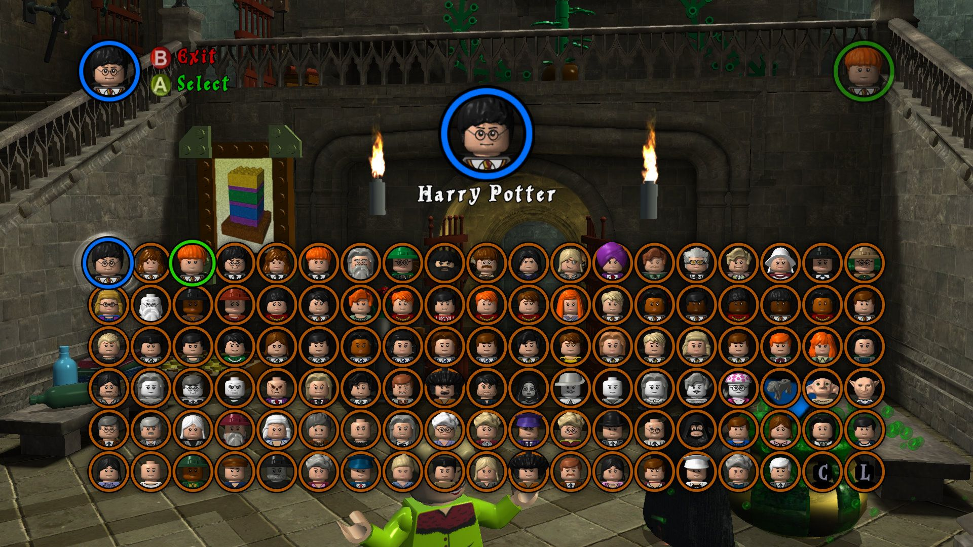 Lego Harry Potter Years 1 4 Wallpaper Characters Harry Potter Advent Calendar Lego Harry Potter Harry Potter Years