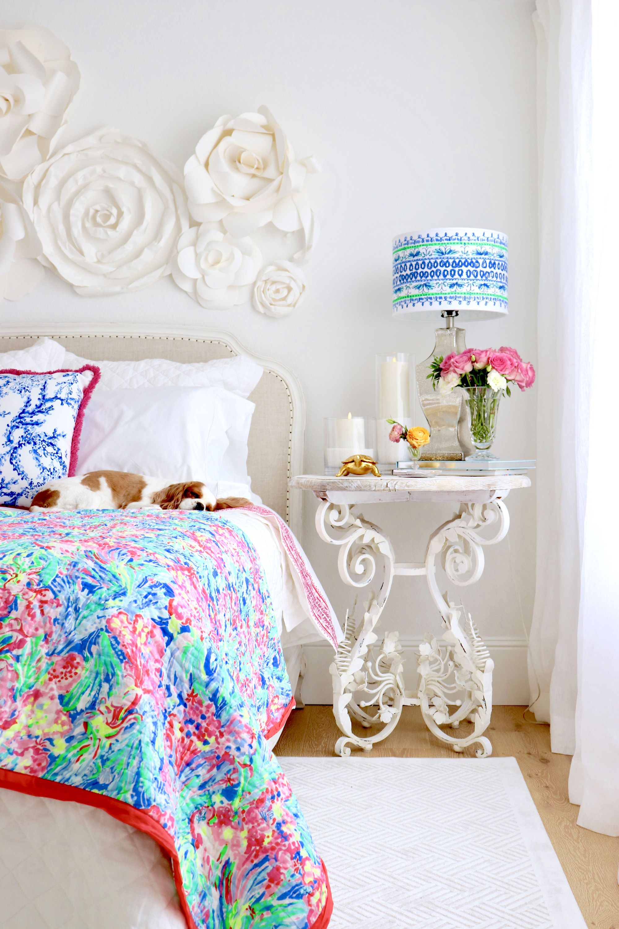 cef191938675be KRISTY WICKS--Colorful Bedroom Update with the new Lilly Pulitzer & Pottery  Barn Collection