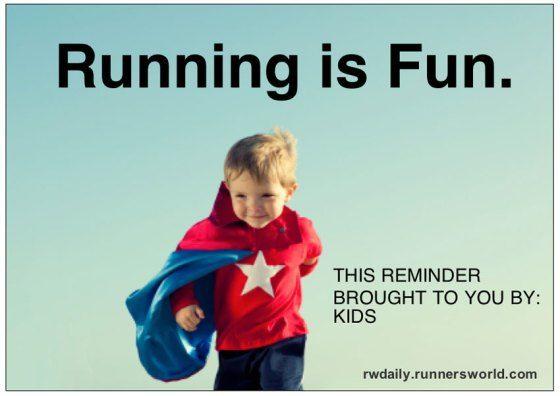 Running is Fun.