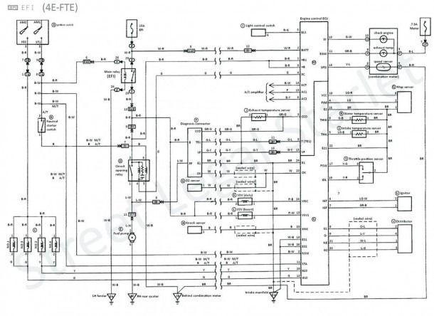 toyota 1nz fe wiring diagram  รถยนต์ อิเล็กทรอนิกส์