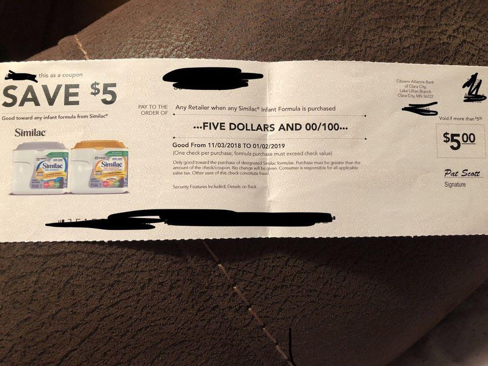 1 5 Off Similac Coupon Expires 1 2 2019 Ebay Similac