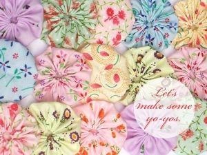yo yo quilt by sophiewoman