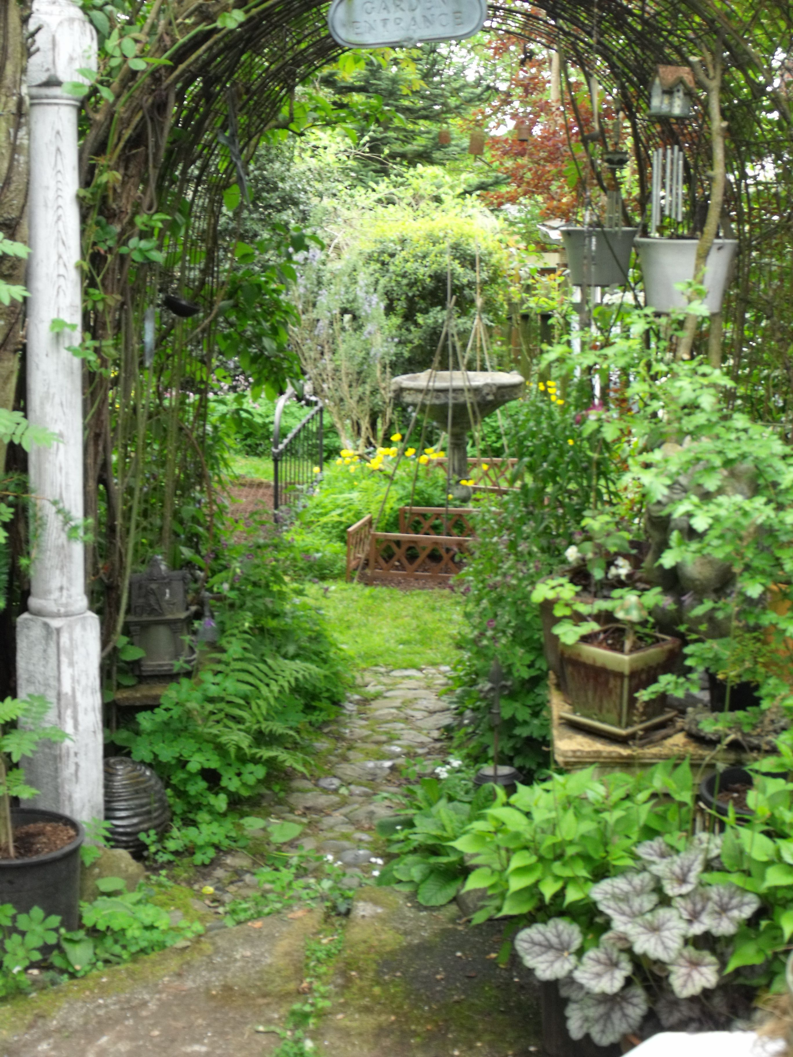 Path to Vegetable garden