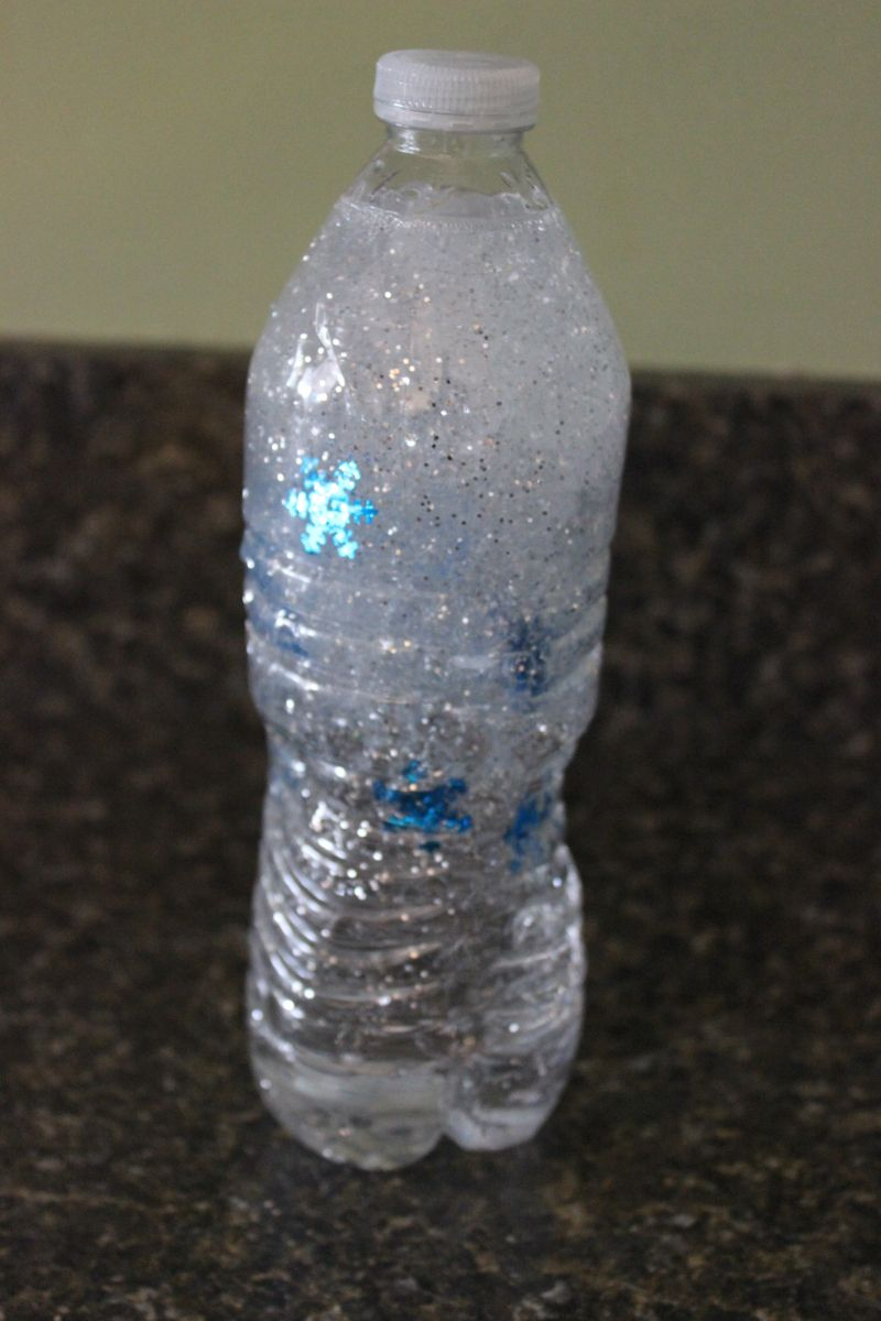 Snow Storm In A Bottle