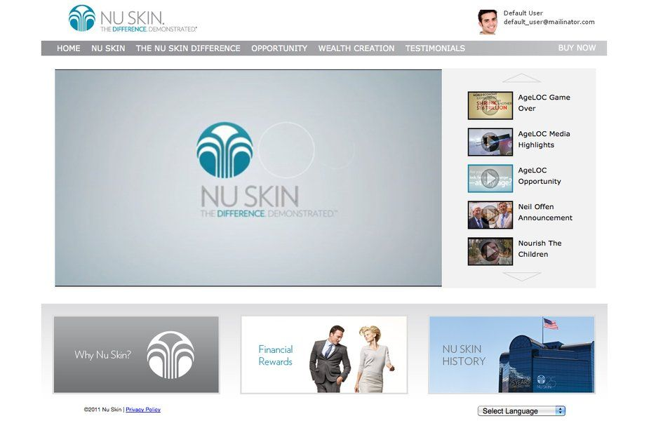 Become a NuSkin distributor! Join us in selling some great