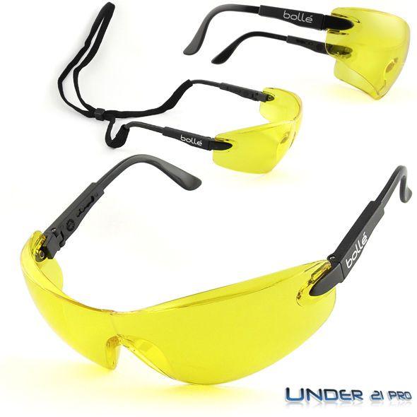 VIPER verre jaune Lunettes de protection Bollé Safety Tir conduite nuit  VIPPSJ cca34ca0f434