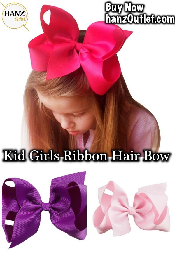 e4e68b65d9943 Big Solid Grosgrain Ribbon Hair Bow Hairpins For Kid Girls Hair Clip  Boutique Hair Accessories  Ribbon  RibbonHairBow  HairBow  Hairpins   GirlsHairClip ...