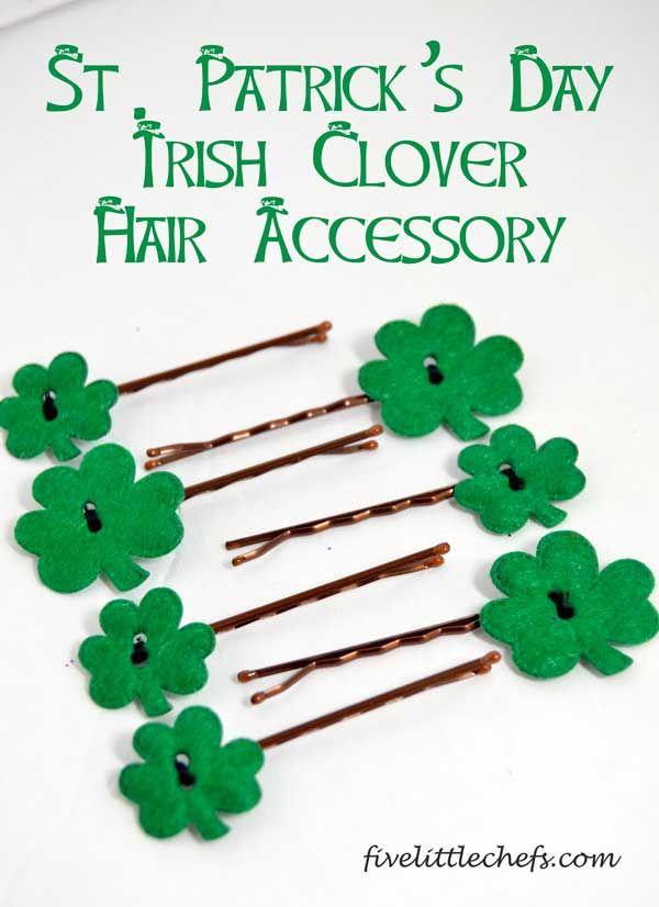 St Patrick S Day Irish Clover Hair Accessory St Patricks Day