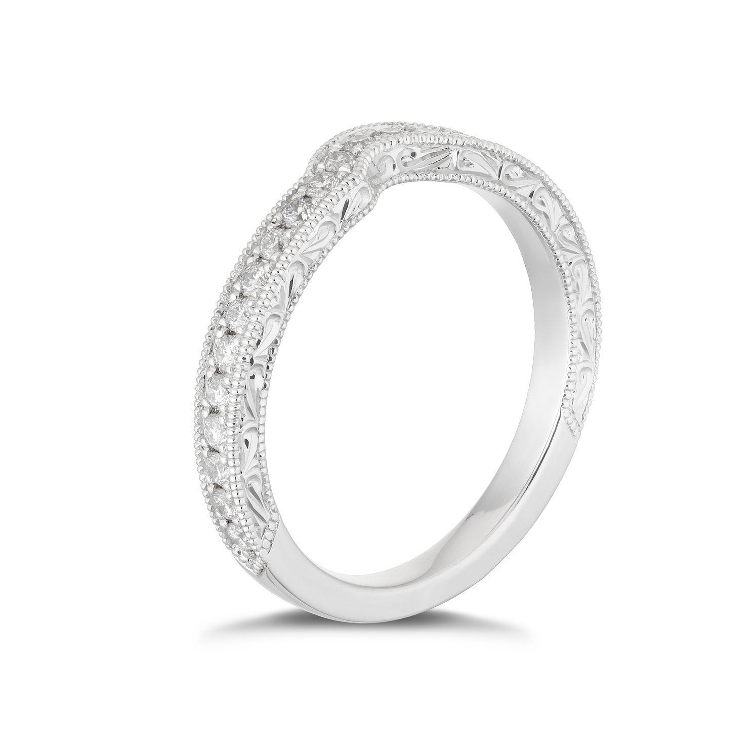 Neil Lane Platinum 0.33ct Diamond Shaped Ring Ernest