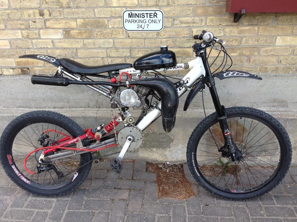 Motoped Engine Custom Chopped And Screwed Homemade Motopeddirt
