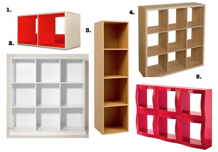 5 alternative cube storage solutions to Ikea's Expedit