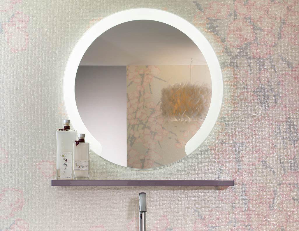 Miroirs Coiffeuses De Salle De Bains Delpha Déco En