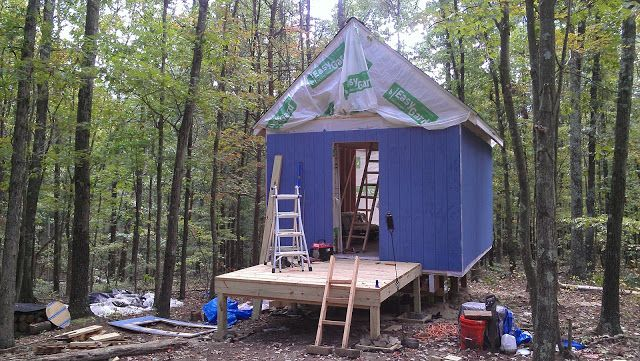 12X16 Cabin with loft in West Virginia