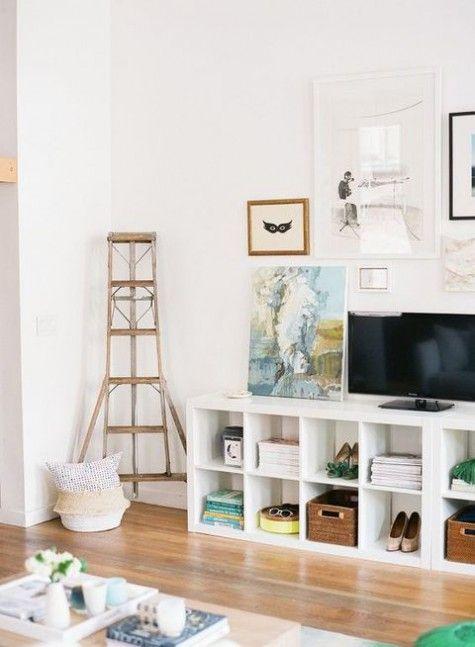 22 Best Ikea Hacks for Kallax Shelf | Ikea living room ...