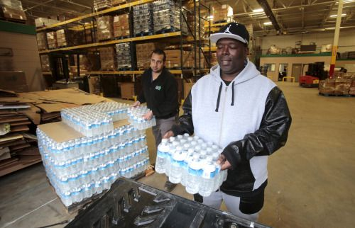 In Flint Michigan a crisis over lead levels in tap water...