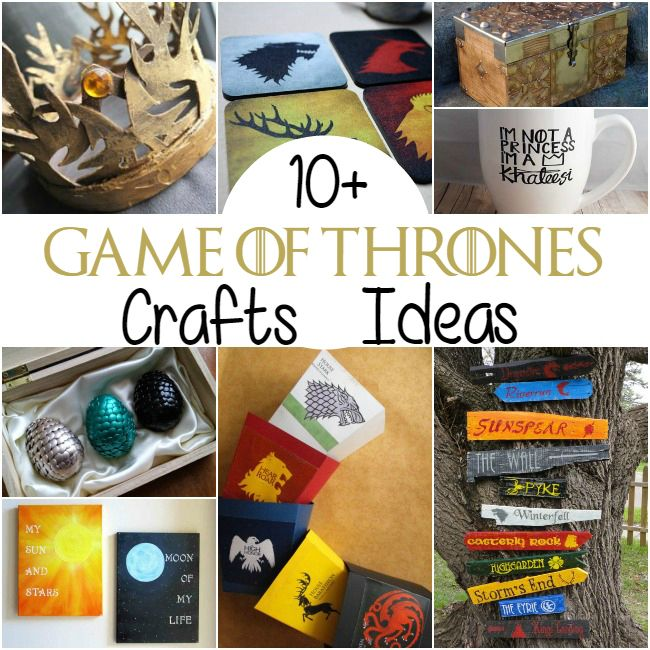 10 Game Of Thrones Craft Ideas Food Recipes Game Of Thrones
